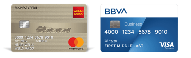 Wells Fargo and BBVA Secured Business Credit Cards