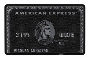 "American Express Centurion ""Black"" Card"