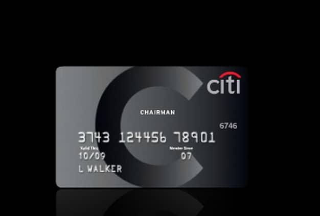 Citi Chairman Card