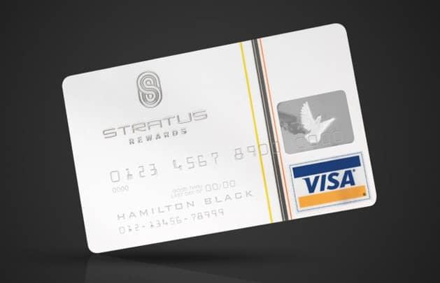 Stratus Rewards Visa White Card