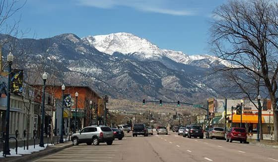 A Photo of Colorado Springs, Colorado