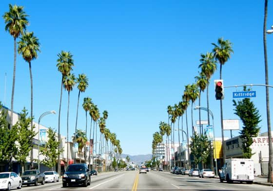 A Photo of Los Angeles, California