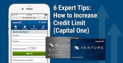 How To Increase Credit Limit Capital One