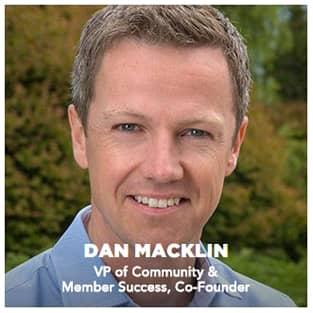 Image of Dan Macklin, SoFi Co-Founder and VP of Community & Member Success