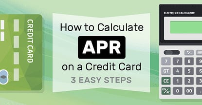 How To Calculate Apr On A Credit Card