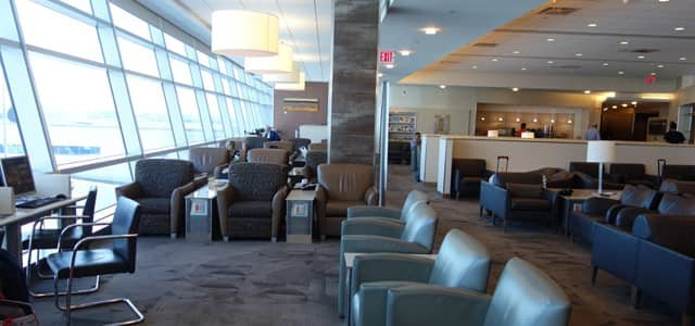 Photo of American Airlines Admirals Club Lounge, John F. Kennedy International Airport, New York