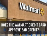 "Walmart Credit Card — ""Bad Credit OK?"""