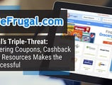 BeFrugal's Triple-Threat: Why Offering Coupons, Cashback Offers & Resources Makes the Site Successful