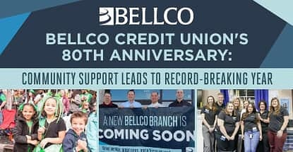 Bellco Credit Union's 80th Anniversary: Community Support Leads to Record-Breaking Year