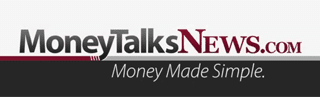 A screenshot of the Money Talks News video intro