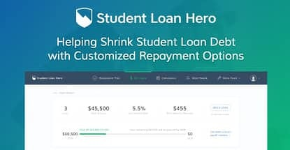 Student Loan Hero — Helping Shrink Student Loan Debt with Customized Repayment Options