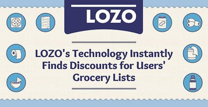 Lozo Finds Discounts For Grocery Lists