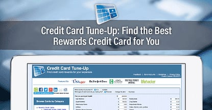 Credit Card Tune Up Finds Best Rewards Credit Card