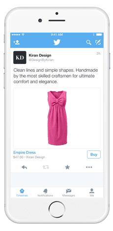 Screenshot of Stripe Relay Feature in Twitter