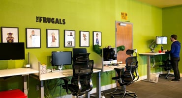Photo of CouponSherpa Office Frugals Display