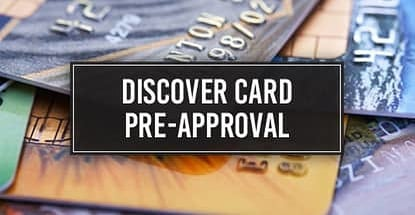 Discover Card Pre Approval