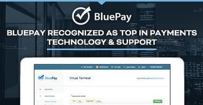 Bluepay Recognized For Payments Technology And Support