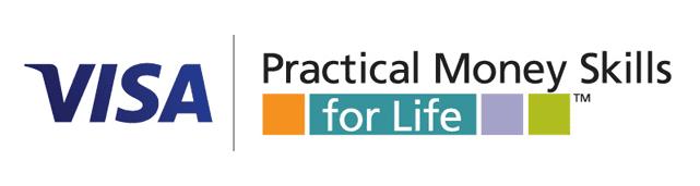 Logo for Visa's Practical Money Skills for Life program