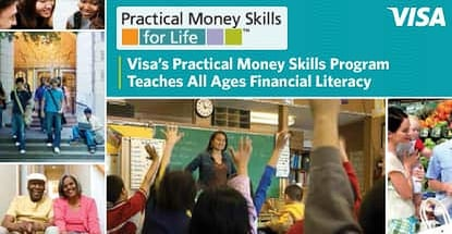 Visa's Practical Money Skills Program Provides Unique & Interactive Tools to Teach People of All Ages Financial Literacy