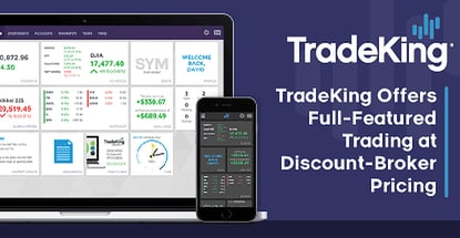 Full-Featured Trading at Discount-Broker Pricing: TradeKing LIVE Makes It Easy & Affordable to Start Investing