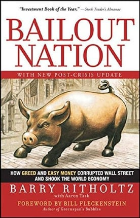 Cover of Bailout Nation by Barry Ritholtz