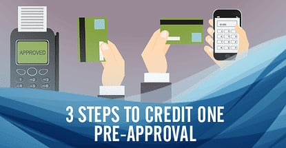 Credit One Pre Approval