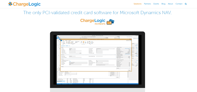 Screenshot of ChargeLogic