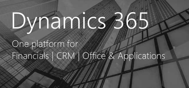 Screenshot of Microsoft Dynamics 365