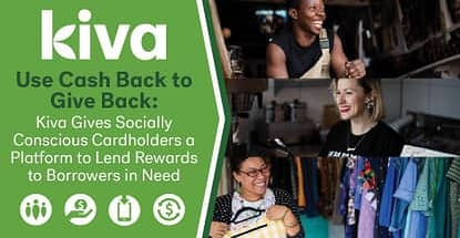 Kiva A Platform To Donate Cash Back Rewards To Borrowers In Need