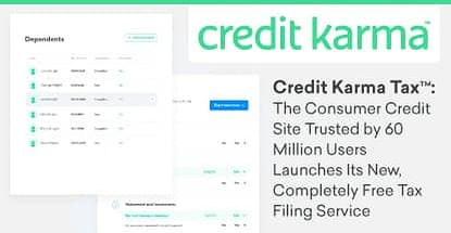 Credit Karma Launches Completely Free Tax Filing
