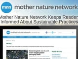 Mother Nature Network Helps Keep Readers Informed on Personal Finance, Sustainable Business Practices & Green Living