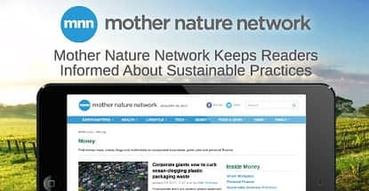 Mother Nature Network Promotes Financial Sustainability