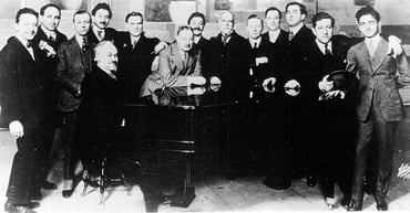 Photo of the founders of ASCAP