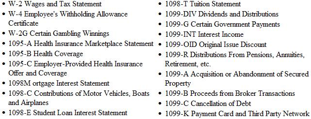credit karma tax forms