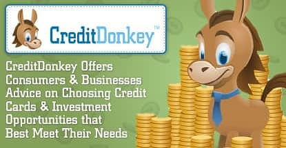 Creditdonkey Provides Sound Credit Card And Investment Advice