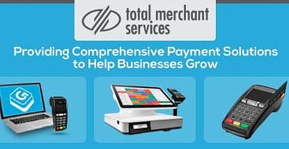 Total Merchant Services Provides Comprehensive Payment Solutions