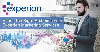 Reach The Right Audience With Experian Marketing Services