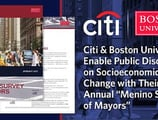 "Citi & Boston University Enable Public Discourse on Socioeconomic Change with Their Annual ""Menino Survey of Mayors"""