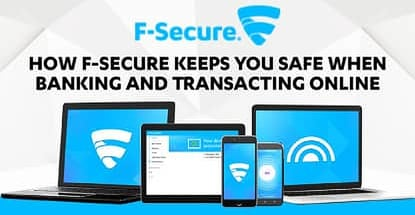 F Secure Keeps Financial Information Private