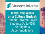 Travel the World on a College Budget: StudentUniverse Saves Students Up to 40% on Flights & Accommodations
