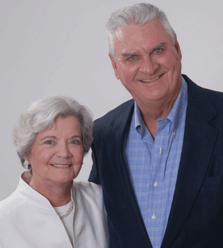 Portrait of Marion and Pat Dugan, Founders of Charity Navigator