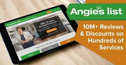 Angies List Provides Reviews And Discounts On Services