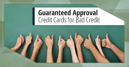 Guaranteed Approval Credit Cards