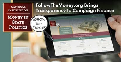 Followthemoney Brings Transparency To Campaign Finance