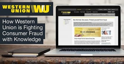 Fighting Fraud With Knowledge How Western Union S Fraud Education Resources Help Lower Consumer Money Transfer Fraud Cardrates Com