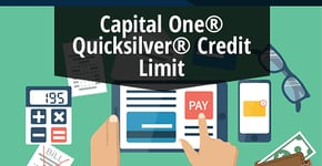 2020 Capital One® Quicksilver® Cash Rewards Credit Card Credit Limit (Pre-Qualify Online)
