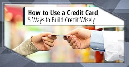 How To Use A Credit Card