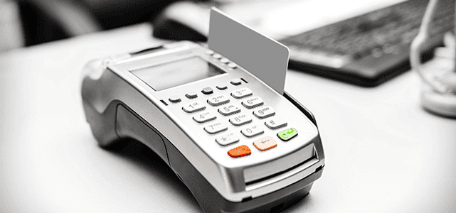 Photo of a point-of-sale device