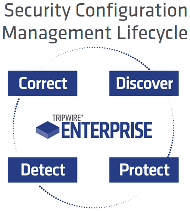 Tripwire Security Lifecycle Graphic