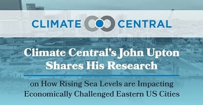 Climate Central Proves How Rising Sea Levels Hurt Poor Regions